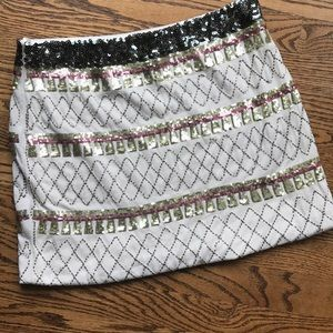 Freeway Sequin Mini Skirt